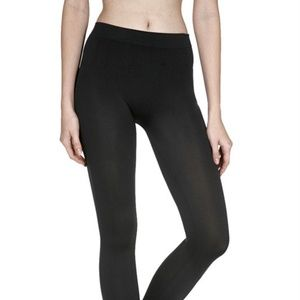 a20bcd5ae Active Basic Accessories - Women s Black Footless Tights Seamless Leggings  21